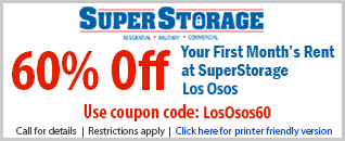 60% Off Coupon Los Osos