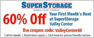 60% Off Coupon Valley Center