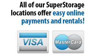 Visa and MasterCard Logo for Payments and Rentals