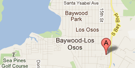 Map of Los Osos