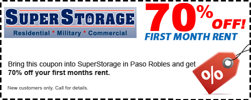 SuperStorage El Centro Coupon